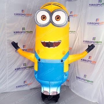 Рекламная фигура надувной желтый миньон