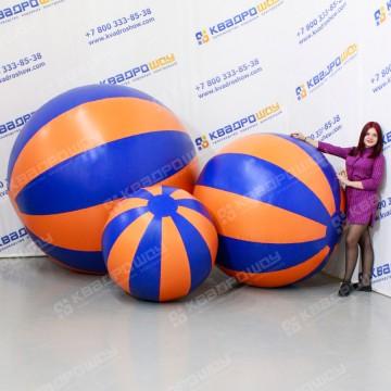 герметичная фигура мяч желто-синий
