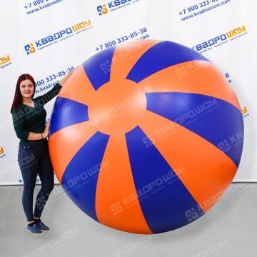Большой надувной мяч Долька ПВХ