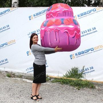 Надувная фигура большой торт