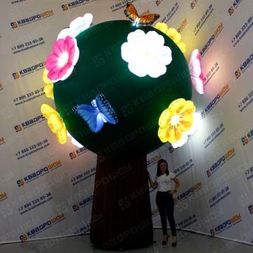 Надувная фигура огромное дерево
