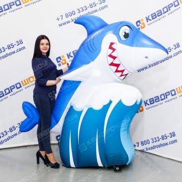 Надувная фигура Акула на волне