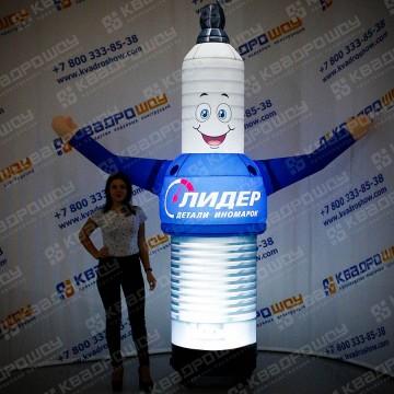 Надувная рекламная фигура Свеча с подсветкой