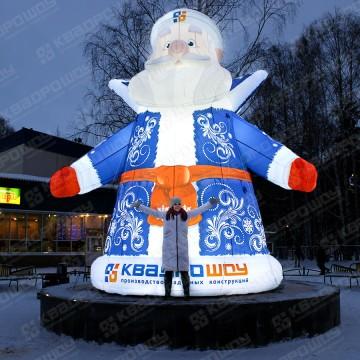 Надувной дед мороз Квадрошоу