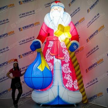 Надувная фигура Дед Мороз Премиум