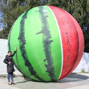 Надувная фигура гигантский арбуз диаметр 5 метров