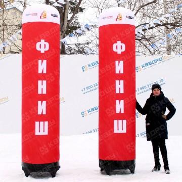 надувная фигура колонны для спортивного забега финиш