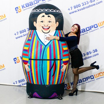 Надувная Фигура Матрешка-узбек
