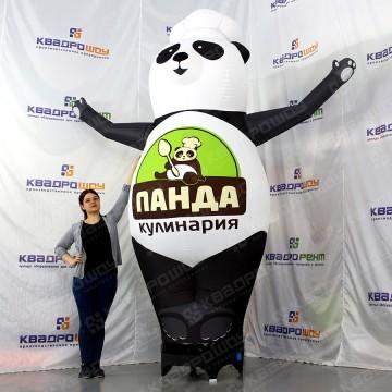 Надувная конструкция панда 3м кулинария