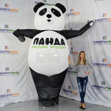 Реклама магазина игрушек надувная панда