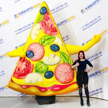 Фигура с машущей рукой Кусочек Пиццы