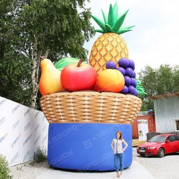 Надувная корзина для продуктового магазина