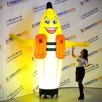 Надувная фигура Банан с подсветкой
