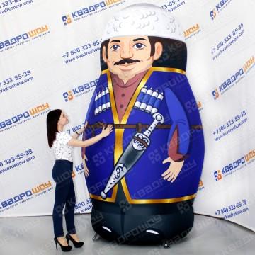 надувная фигура матрешка азербайджанец