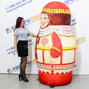 Надувная Фигура Матрешка чувашская