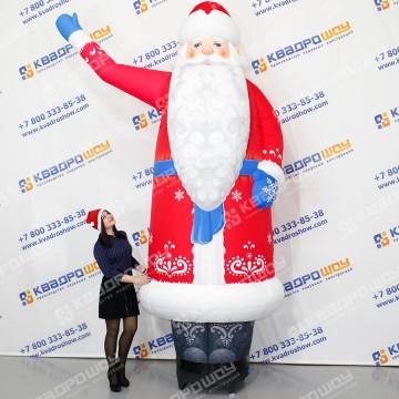 Надувная декорация Дед Мороз зазывала