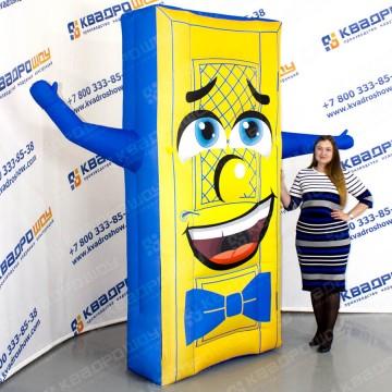 надувная рекламная фигура дверь с машущей рукой