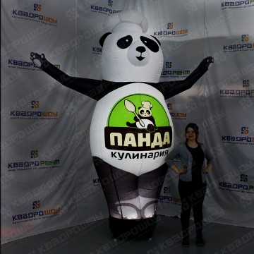 Надувная фигура Панда для кулинарии
