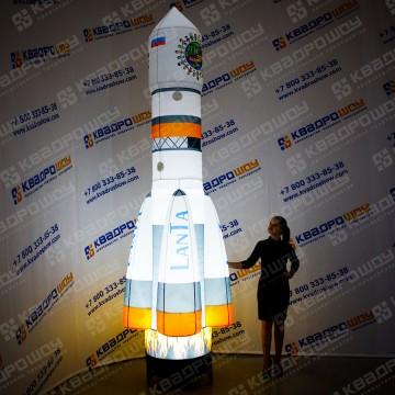 Надувная Ракета фигура для рекламы