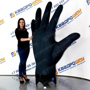 надувная рука для рекламы