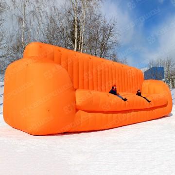 надувная рекламная мебель огромный диван