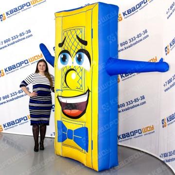 креативная реклама дверей