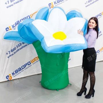 Надувная фигура клумба из цветов