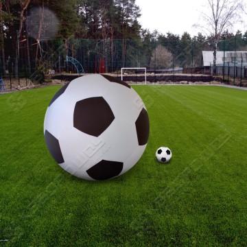 Мяч большой надувной футбольный