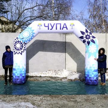 Надувная рекламная арка