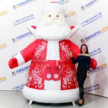 Огромный Дед Мороз с подсветкой