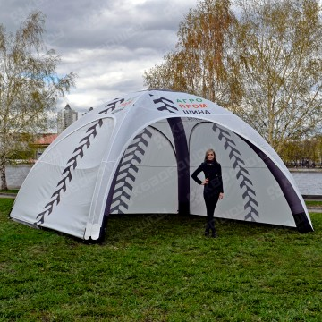 Рекламная палатка на герметичном каркасе