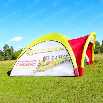 брендовая палатка