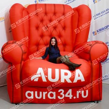 Надувная конструкция Кресло