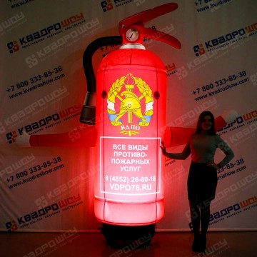 Надувной баллон Огнетушитель с подсветкой