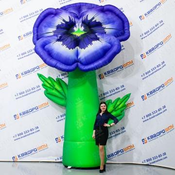 Надувная фигура цветок Виола