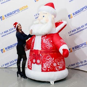 Надувная конструкция для декора Дед Мороз