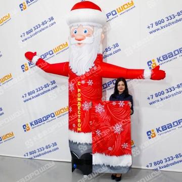 Дед Мороз Со сменными праздничными баннерами