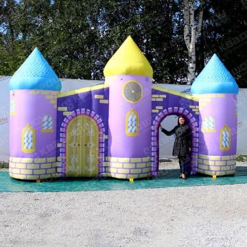 Надувная фигура фиолетовый замок