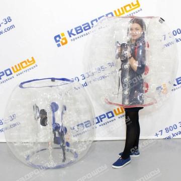 футбольный зорб прозрачные шары для бампербола