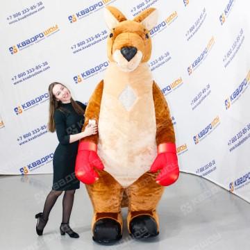 надувной ростовой костюм кенгуру