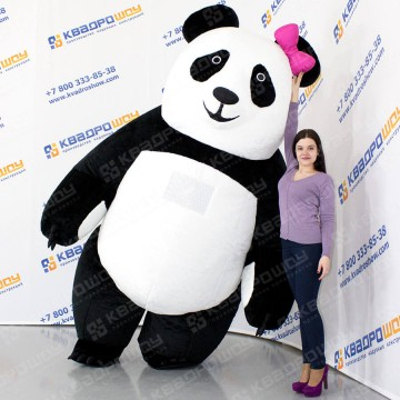 надувной костюм мишки панды