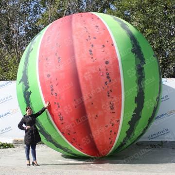 надувной муляж ягода арбуз большого размера