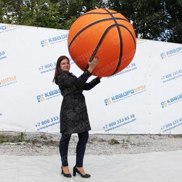 Надувной огромный баскетбольный мяч