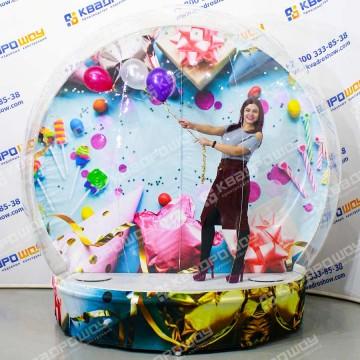 Надувной праздничный чудо шар