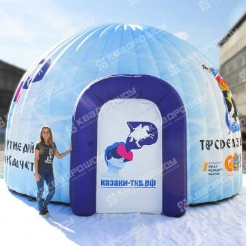 Надувной шатер мобильный музей