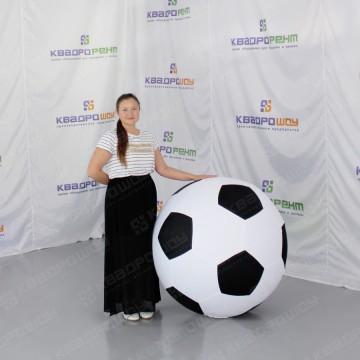 Надувной футбольный мяч для оформления