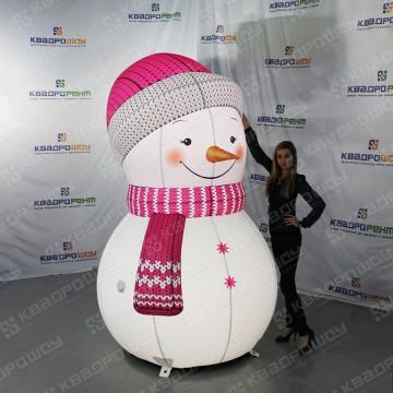 Фигура для праздника Снеговик