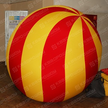 Надувной новогодний шар
