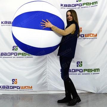 Надувная декорация мяч