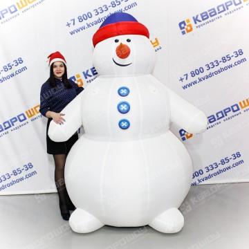 Надувная фигура Снеговик